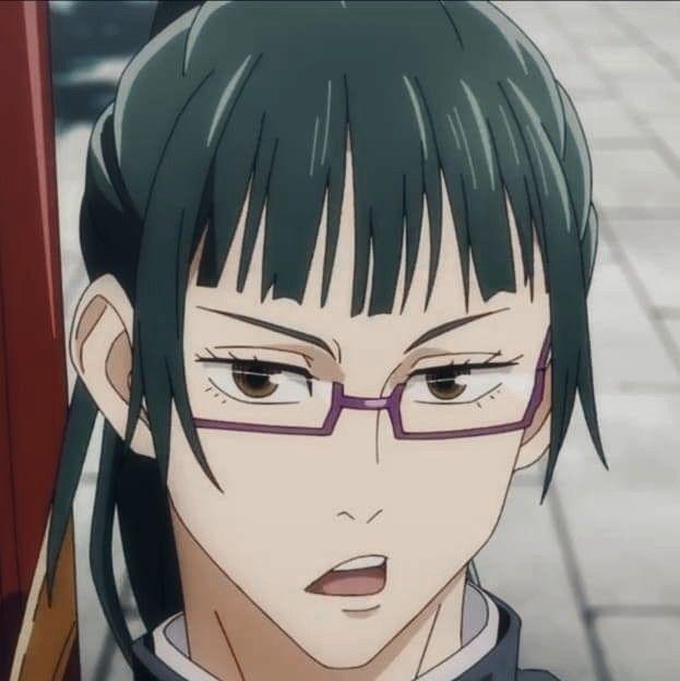 Maki Anime Jujutsu Maki