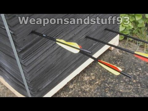 Best archery/crossbow Target/Backstop - YouTube