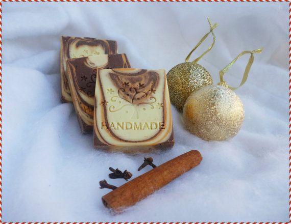 CHRISTMAS HANDMADE SOAP  Handmade Bar Soap by StarSoapsbyIvana