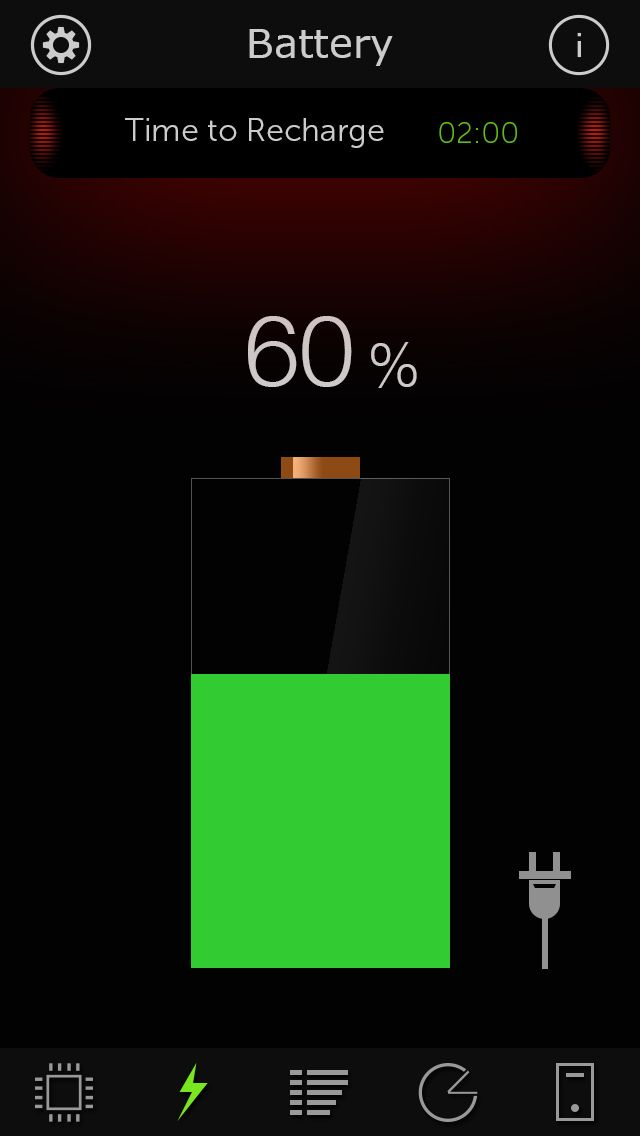 iPhone App System Monitor - Battery Health, Free Memory, Used Space.   Productivity   Utilities   *****   4    $0.99 NOW FREE   ** NEW and NOTEWORTHY ** ***** MANY FIVE STAR RATINGS *****Now the unique Dashboard view for for all of iOS devices, has