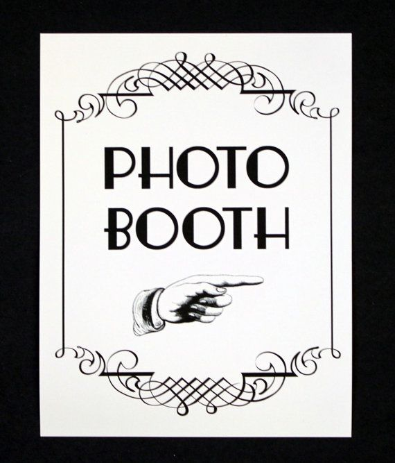 Photo Booth Sign Photo Booth Prop Photobooth by LittleRetreats, $7.00