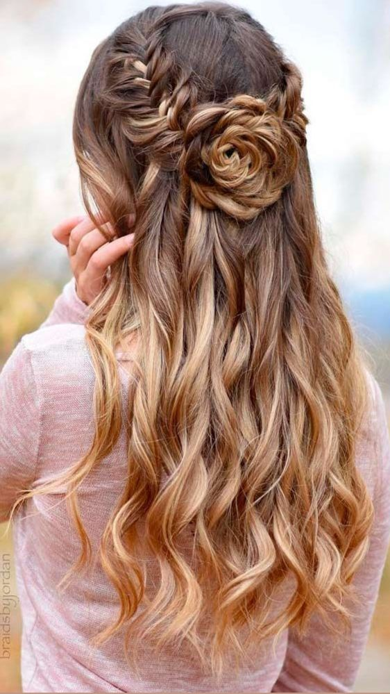 Cute Prom Hairstyles | Pinterest