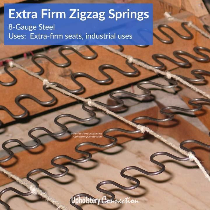 Zigzag No Sag Springs And Clips Fix Sagging Couch Zig Zag Furniture Fix