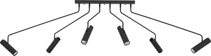 Потолочный светильник Nowodvorski EYE SUPER BLACK 6505 - купить в Москве по лучшей цене - Новодворский
