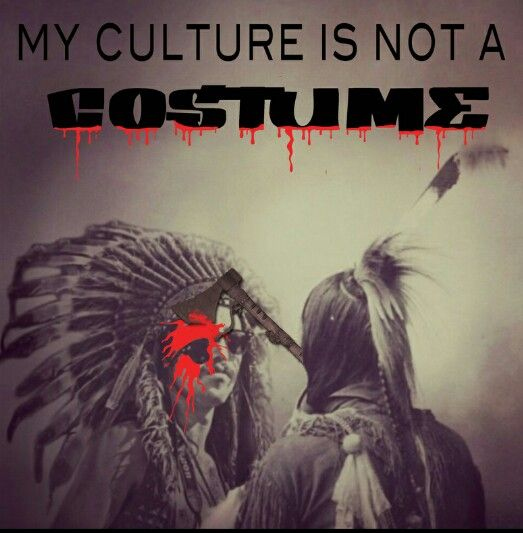 Indigenous Apparel: my culture is not a costume!