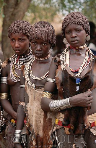Hamar Tribe, Lower Omo River, Ethiopia