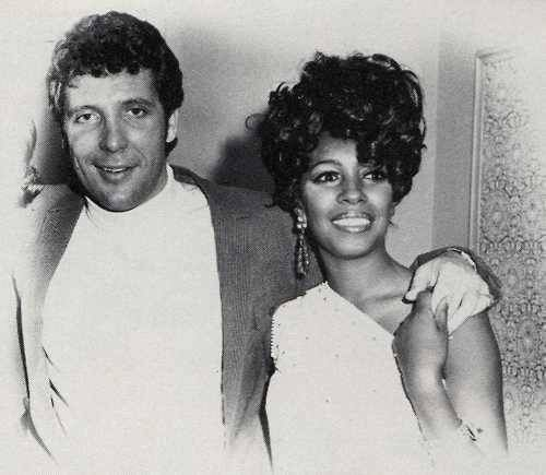 5/4/2017: MARY WILSON of The Supremes with Tom Jones. [1971]