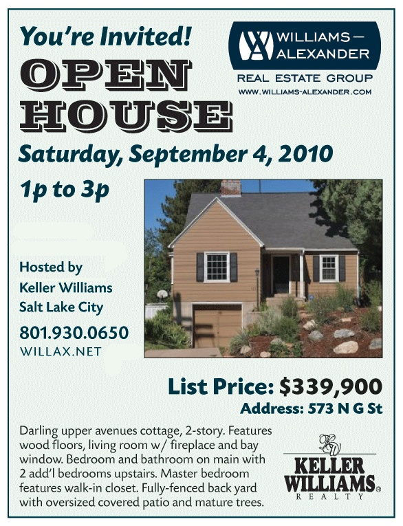 Best Open House Images On   Open House Flyers And