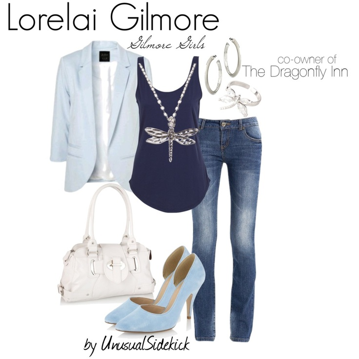 Lorelai Gilmore.. Combines my love for clothes and Gilmore Girls.Yes!!