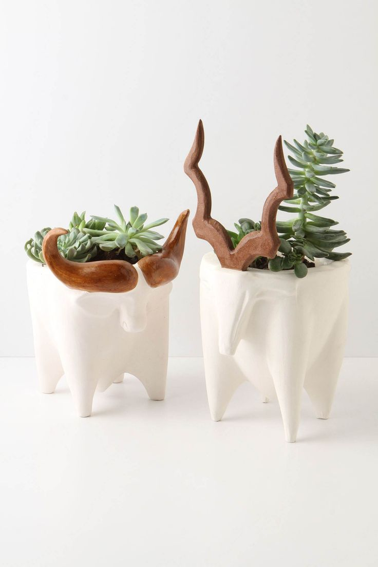 Greenside planters: one-of-a kind sculpture from Johannesburg-based artist Marina Walsh