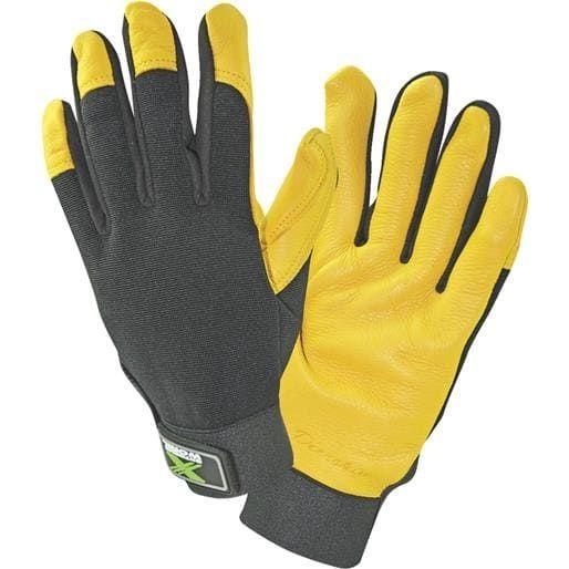 West Chester Lrg Deerskin Grain Glove 86405-L Unit: Pair, Yellow