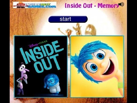 Inside Out -  Memory Match - Game Tutorial 2016