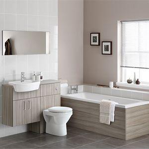 HU Bathroom   Trio Drift On Housing Units