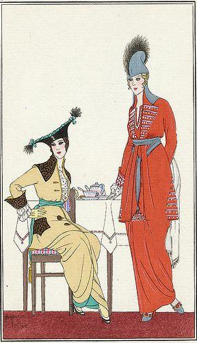 """""""Toilettes de Visite"""" ~ A. Vallee, 1914"""