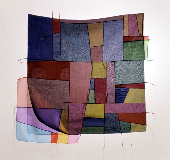 not a quilt, but inspirational. Chunghie Lee textiles
