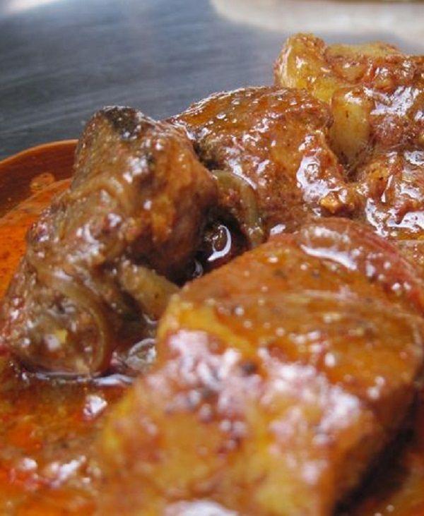 Pressure Cooker Pork Vindaloo #pork