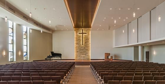 Modern church interior architecture google search for De square design and interiors