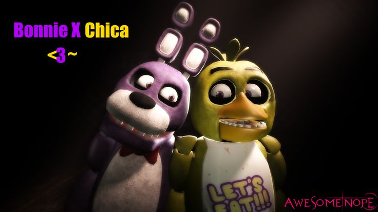 [SFM FNAF Shipping]Bonnie X Chica by Awesomenope on DeviantArt