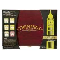 Cha Twinings Caixa De Madeira Com 60 Sachês Linda P/presente
