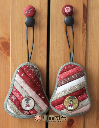 [转载]圣诞铃铛钥匙包(教程分享)
