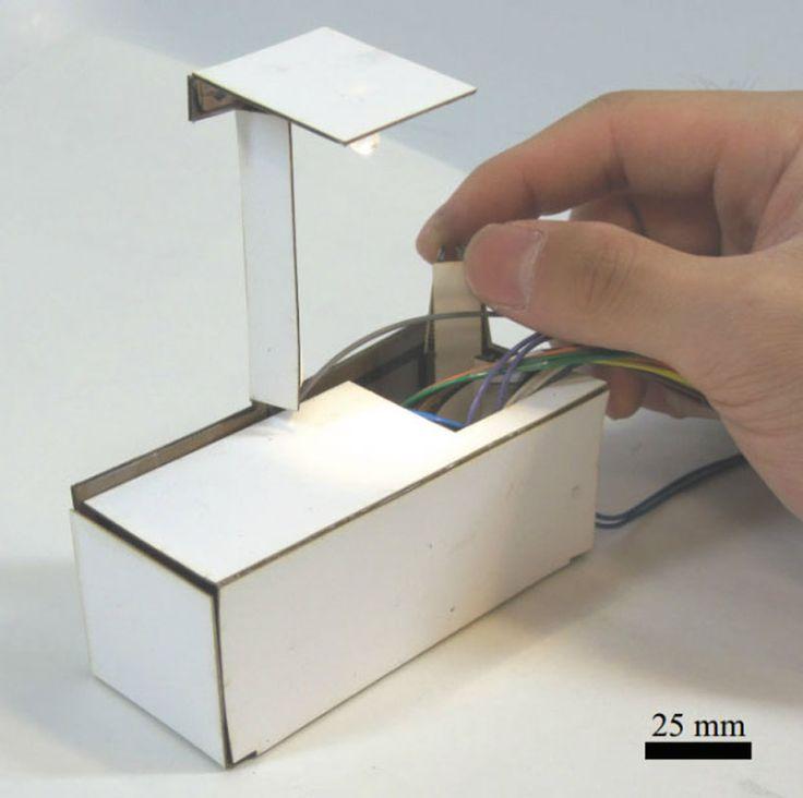 harvard researchers develop 3D printed robotic lamp that self-assembles - designboom | architecture