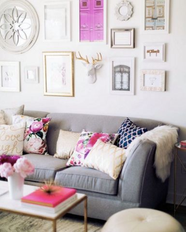every home should have a few pink accents.
