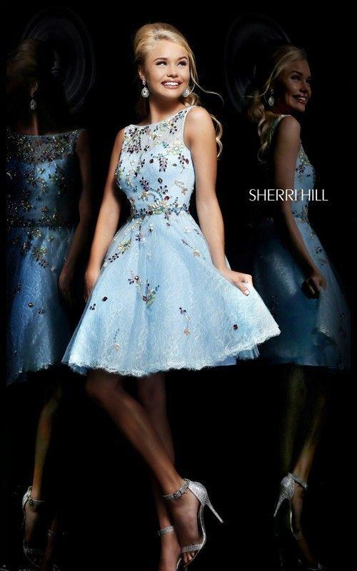 472 besten 2014 Sherri Hill Prom Dresses Bilder auf Pinterest ...
