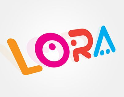 This is the Logo for LORA Company for baby requirements