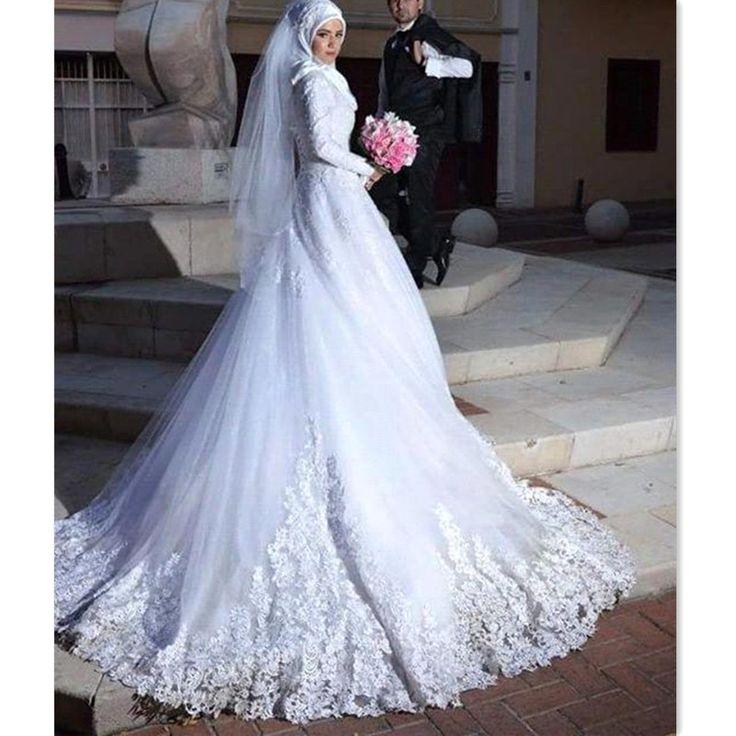 Best 25 Hijab Wedding Dresses Ideas On