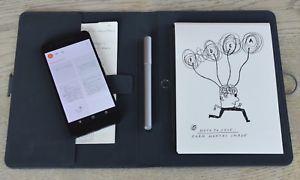 a wacom bamboo spark gadget estuche portatil inteligente