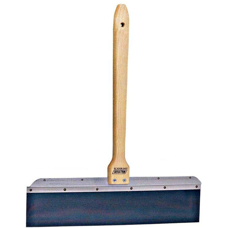 Professional Drywall Tapping Knife Wall Tool Blue Spring Steel Ridgeless Blade #WalBoardTools