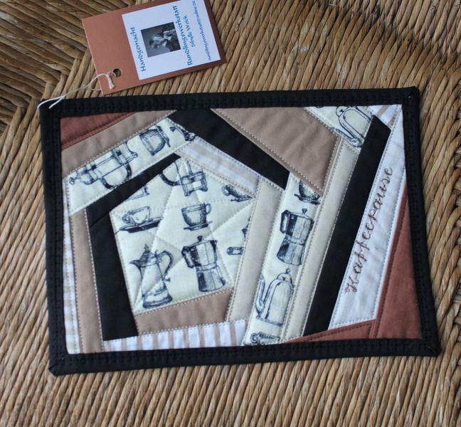 MUG RUG Tassenteppich Kaffepause  von rundlingswerkstatt auf DaWanda.com