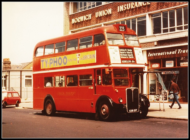 London transport Saunders bodied RT3108. 1960's. by Ledlon89, via Flickr