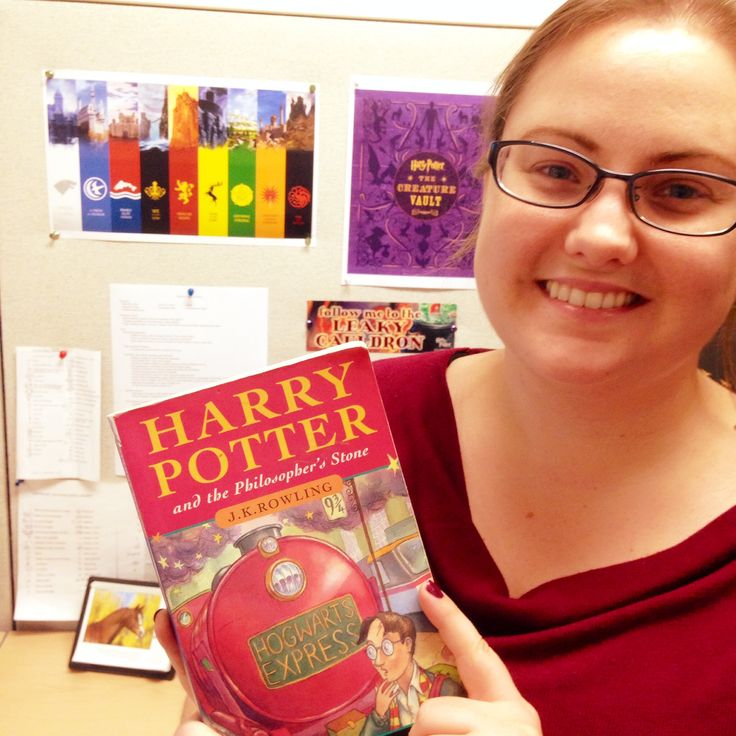 """Tara is thankful for Harry Potter because """"happiness can be found, even in the darkest of times, if one only remembers to turn on the light""""... AND it made her believe in magic, even if her letter to Hogwarts got lost in the mail! #ThankYouKidsLit"""
