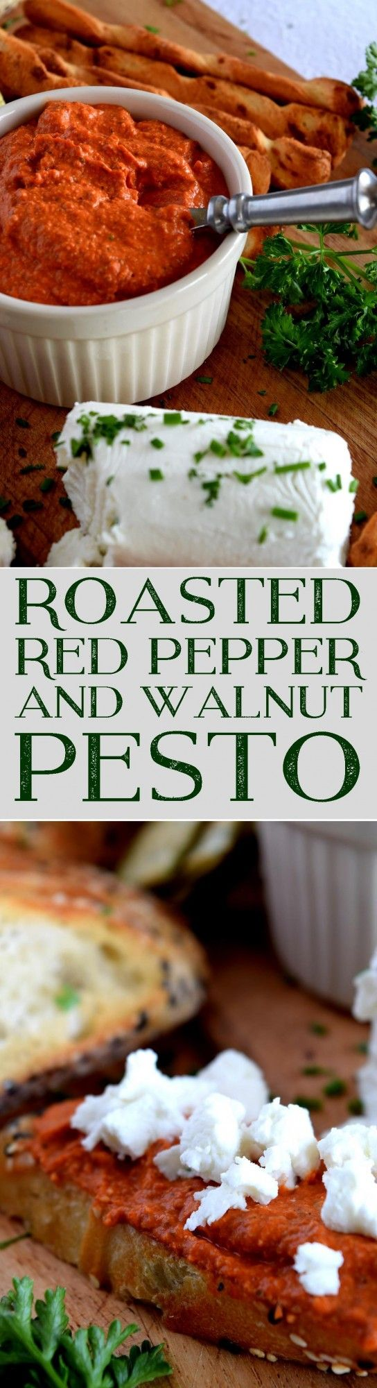 Early summer screams for Roasted Red Pepper Walnut Pesto; a versatile sauce that's everyone's favourite, and can easily help to use up all the bounty ofred peppers. Tasty, easy, affordable, and homemade – could it get any better than that!?…