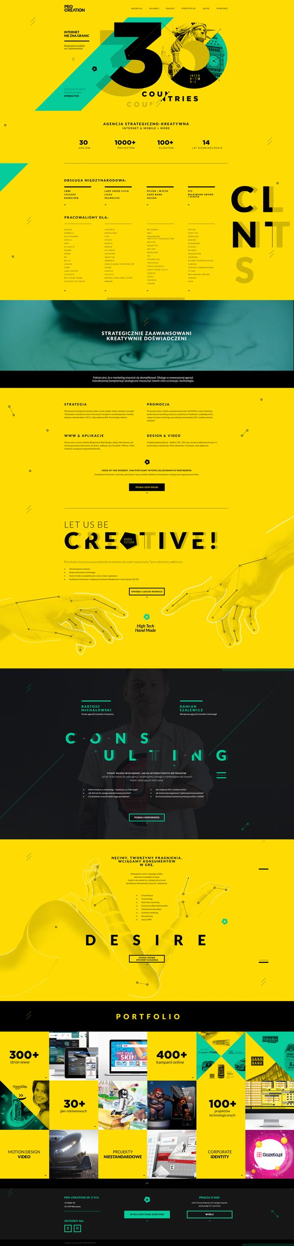 Pro Creation. Never seen any web design like this. #webdesign #design // Hi Friends, look what I just found on #web #design! Make sure to follow us @moirestudiosjkt to see more pins like this | Moire Studios is a thriving website and graphic design studio based in Jakarta, Indonesia.