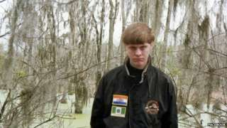 Charleston shooting: Dylann Roof named as suspect - BBC News