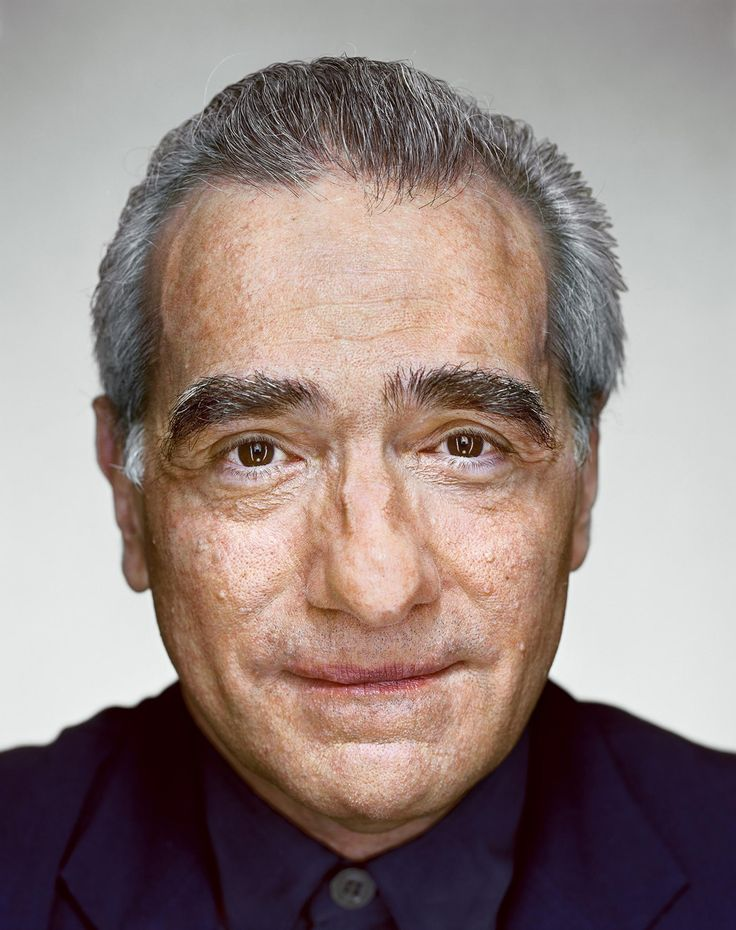 Martin Scorsese by Martin Schoeller.