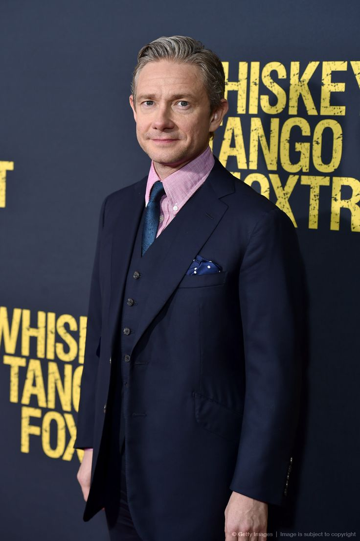 HQ] Actor Martin Freeman attends the 'Whiskey Tango Foxtrot' world premiere at AMC Loews Lincoln Square 13 theater on March 1, 2016 in New York City. (x)