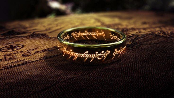 anillo el senor de los anillos