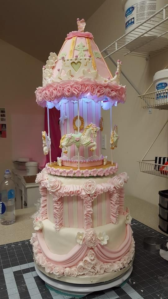 Baby Shower Cakes Cardiff ~ Best carrousel theme birthday party images on pinterest