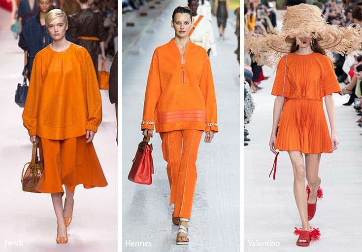 9906c556660 Spring  Summer 2019 Color Trends  Turmeric  trends  fashion  runway   fashiontrends  turmeric  orange