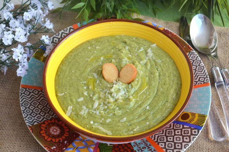 Vellutata di broccoli, scopri la ricetta: http://www.misya.info/ricetta/vellutata-di-broccoli.htm