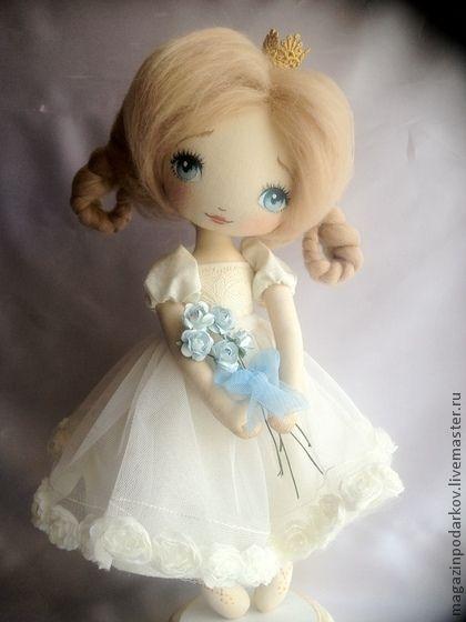Коллекционные куклы ручной работы. Ярмарка Мастеров - ручная работа Маленькая принцесса (повтор). Handmade.