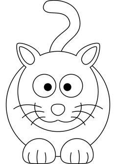 free cat drawing books