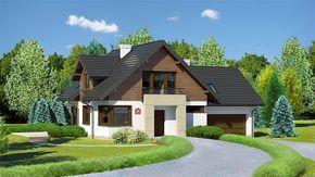 Zdjęcie projektu Dom przy Cyprysowej 36 KRK1377