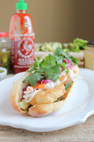 Shrimp Tempura Banh Mi - The Kitchenthusiast