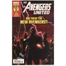 The Avengers United #78 from Marvel/Panini Comics UK. 2nd May 2007 issue. In very good condition internally but front cover has some small marks. Bagged and boarded. £1.00