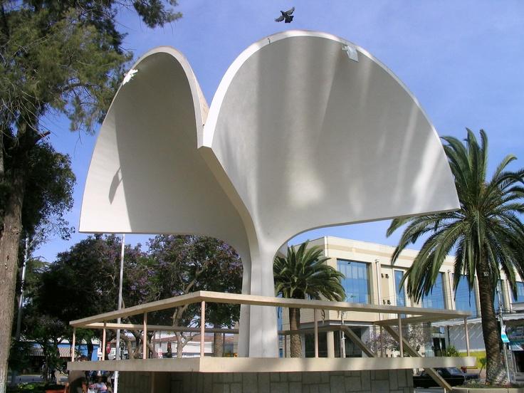 Trébol, Plaza de Armas. Ovalle.