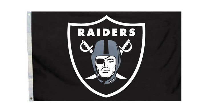 Oakland Raiders 3'x5' All Pro Design Flag